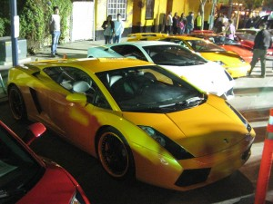 Lamborghini Show In Little Italy