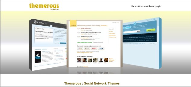 Themerous Custom Social Network Theming