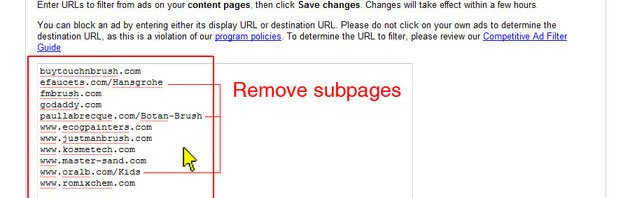 How to Remove Unwanted Advertisers in Google AdSense - Part 4